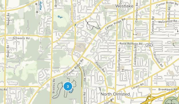 Westlake, Ohio Map