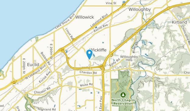 Wickliffe, Ohio Map