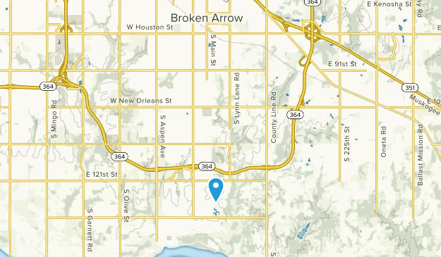 Broken Arrow, Oklahoma Map