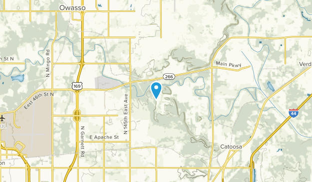 Catoosa, Oklahoma Map
