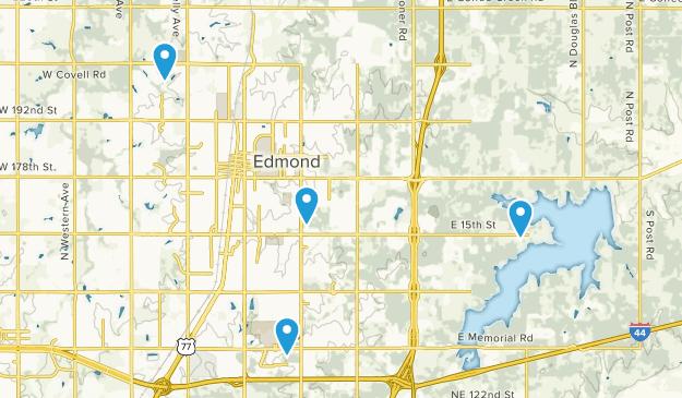 Edmond, Oklahoma Map
