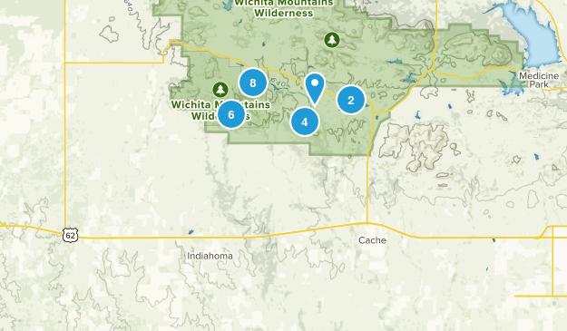 Indiahoma, Oklahoma Map