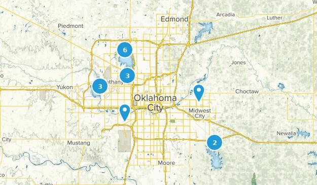 Oklahoma City, Oklahoma Map