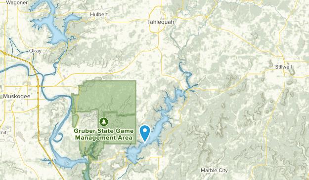 Park Hill, Oklahoma Map