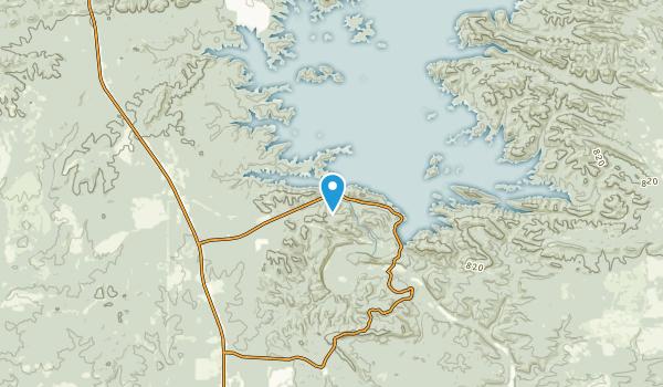 Stephens Gap, Oklahoma Map
