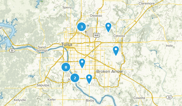 Tulsa Ok Time Zone >> Best Trails Near Tulsa Oklahoma Alltrails