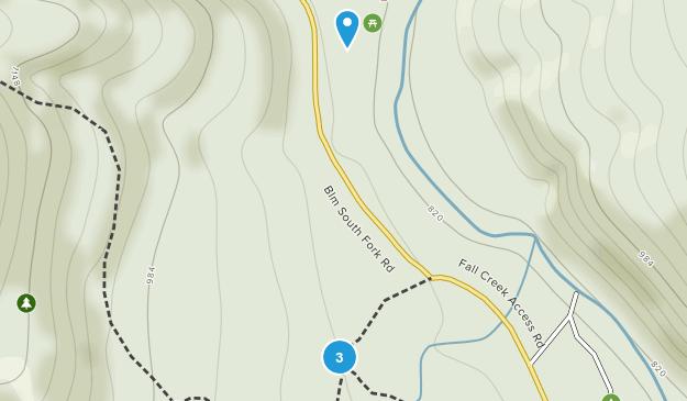 Alsea, Oregon Map