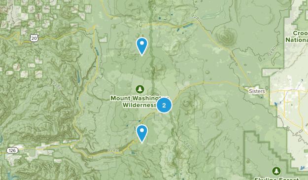 Black Butte Ranch, Oregon Map
