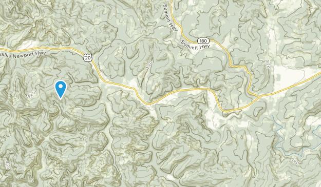 Blodgett, Oregon Map