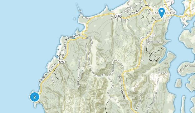 Charleston, Oregon Map