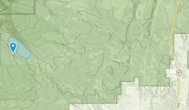 Chemult, Oregon Map