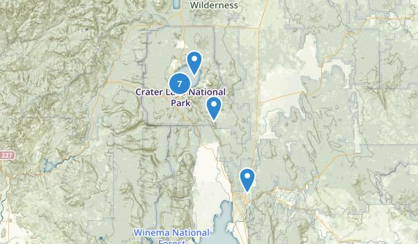Chiloquin, Oregon Map