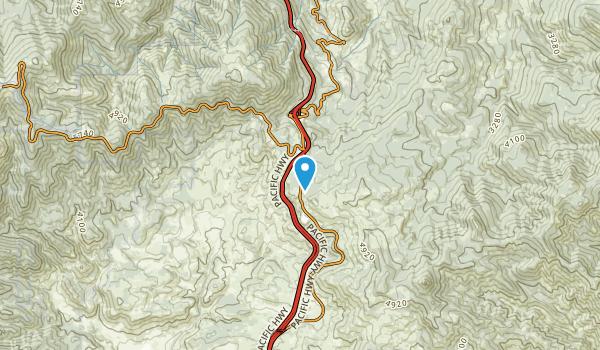 Colestin, Oregon Map