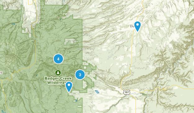 Dufur, Oregon Map
