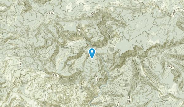 Four Cabin Corner, Oregon Map