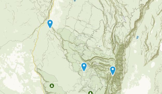 Frenchglen, Oregon Map