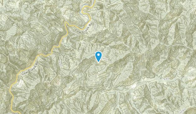 Glendale, Oregon Map