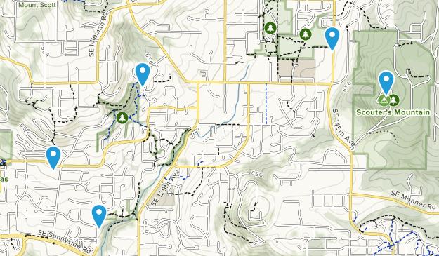 Happy Valley, Oregon Map
