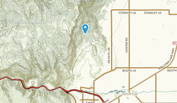 La Grande, Oregon Map