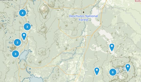 La Pine, Oregon Map