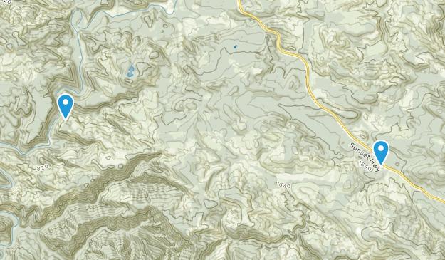 Lukarilla, Oregon Map