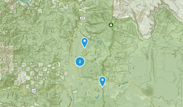 Marion Forks, Oregon Map