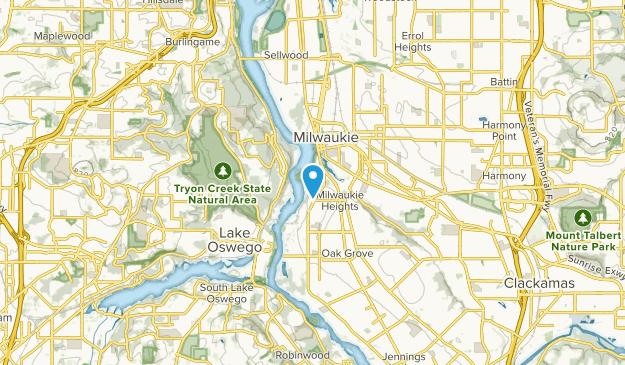 Milwaukie, Oregon Map