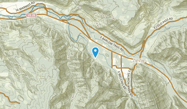 Mount Hood Village, Oregon Map