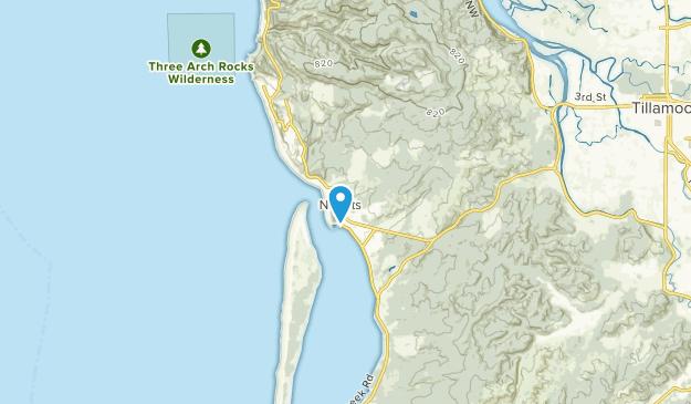 Netarts, Oregon Map