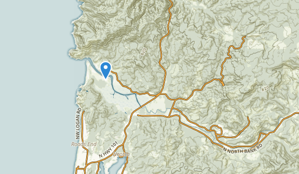trail locations for Otis, Oregon