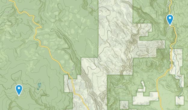 Paisley, Oregon Map