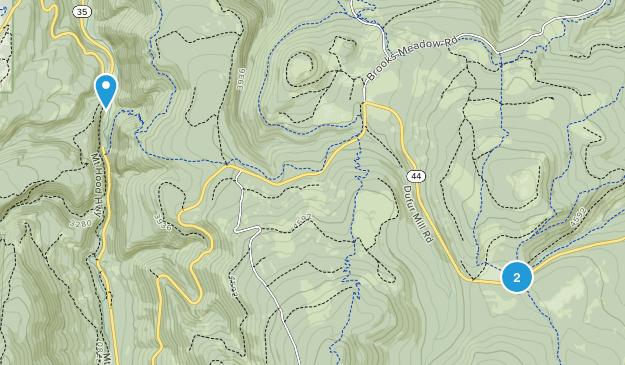 Parkdale, Oregon Map