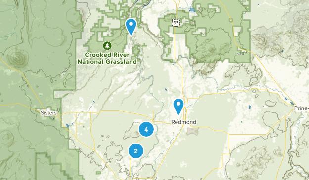 Redmond, Oregon Map