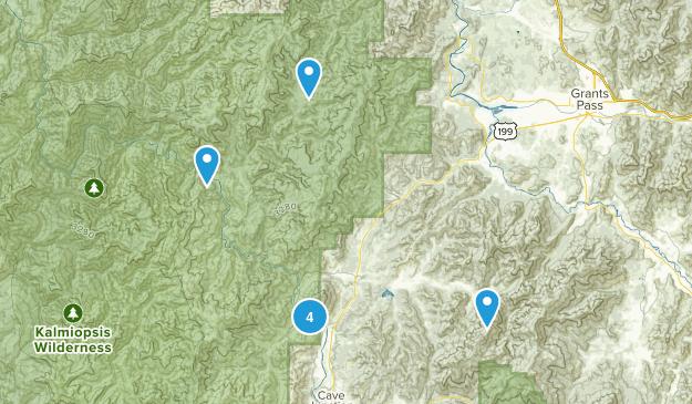 Selma, Oregon Map