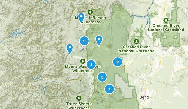 Sisters, Oregon Map
