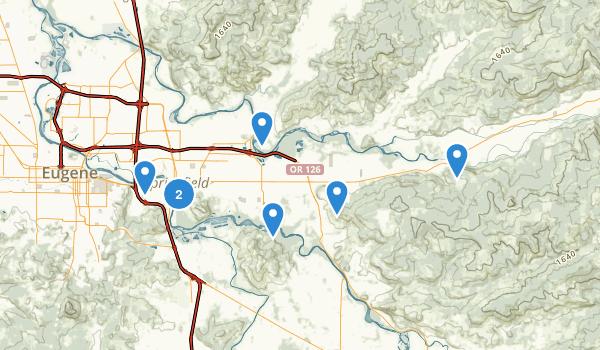 Springfield, Oregon Map