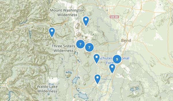 Sunriver, Oregon Map