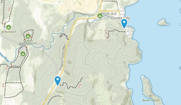 Westlake, Oregon Map