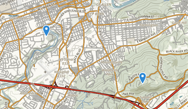 Allentown, Pennsylvania Map