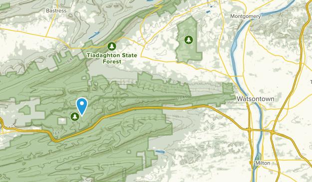 Allenwood, Pennsylvania Map