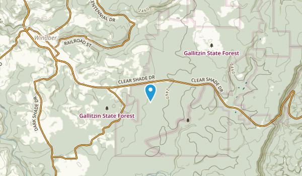 Ashtola, Pennsylvania Map