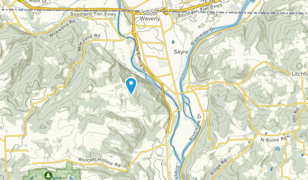 Athens, Pennsylvania Map