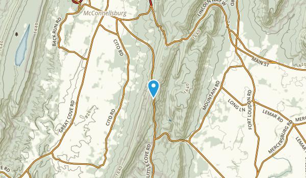 Bear Lick, Pennsylvania Map