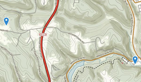 Beaver Falls, Pennsylvania Map