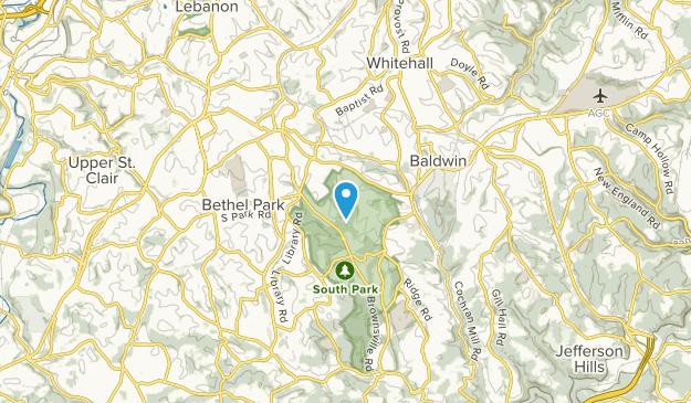 Bethel Park, Pennsylvania Map