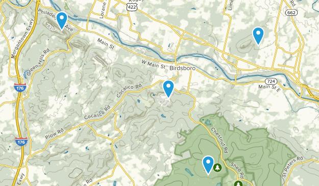 Birdsboro, Pennsylvania Map