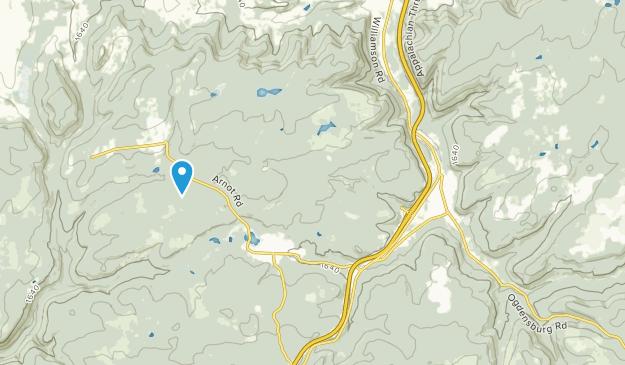 Blossburg, Pennsylvania Map