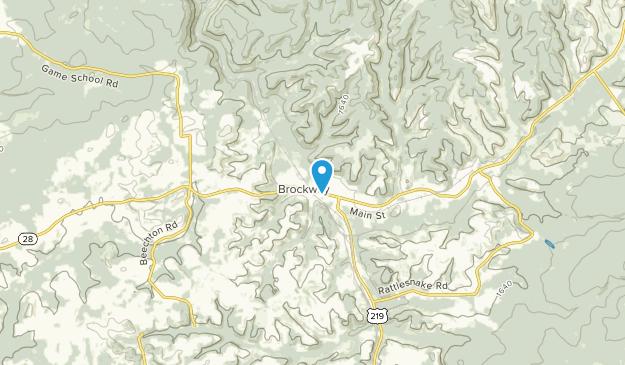 Brockway, Pennsylvania Map