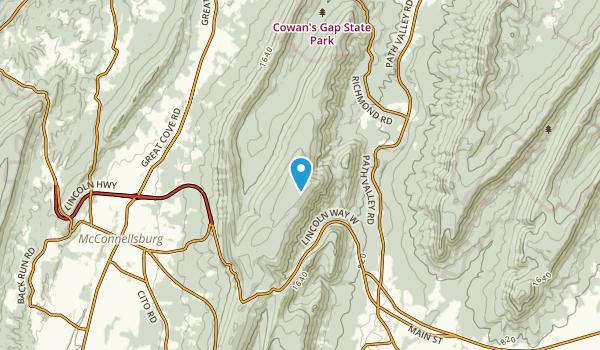 Buchanan Summit, Pennsylvania Map
