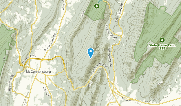 Buchanan Summit, Pennsylvania Map